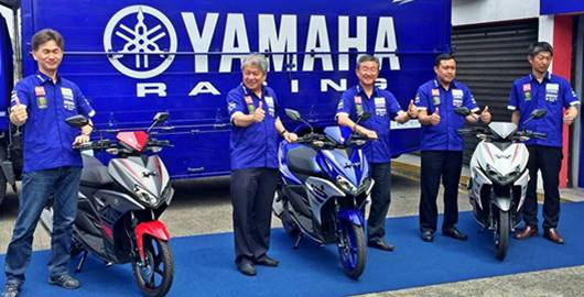 Launchinng yamaha aerox 125 lc