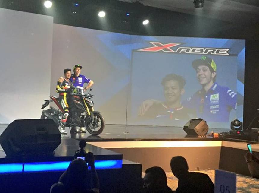launching yamaha xabre 150