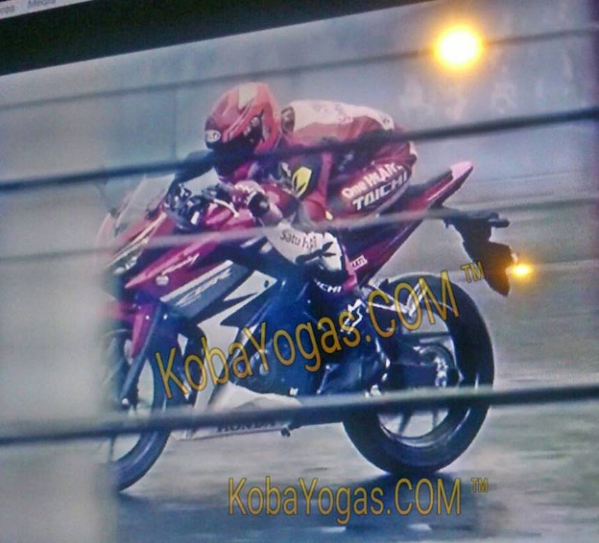 spy shots new cbr150r 2016