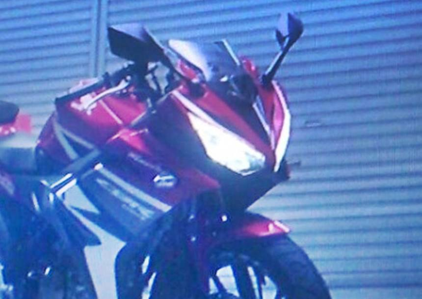 spy shgambar all new CBR150R 2016ots new cbr150r 2016