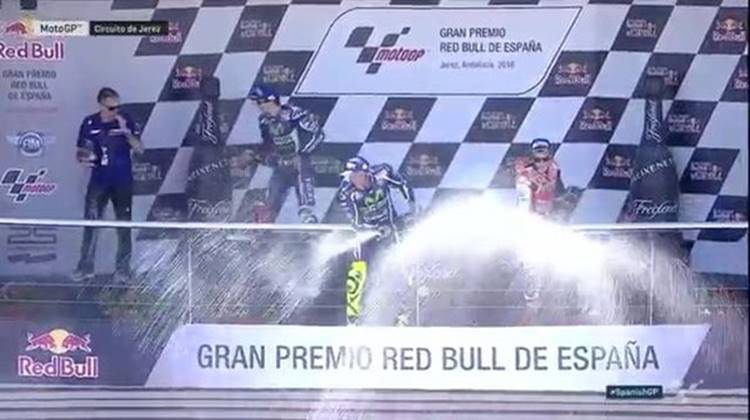 MotoGP Jerez 2016, Rossi IS back