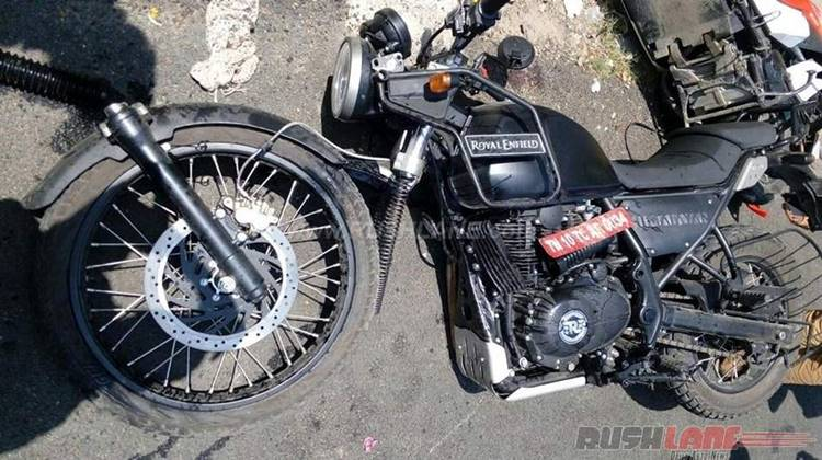 Royal Enfield Himalayan VS Honda Dio, RE Himalayan Ambrol