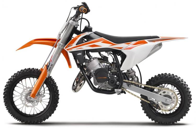 Mini trail KTM SX series
