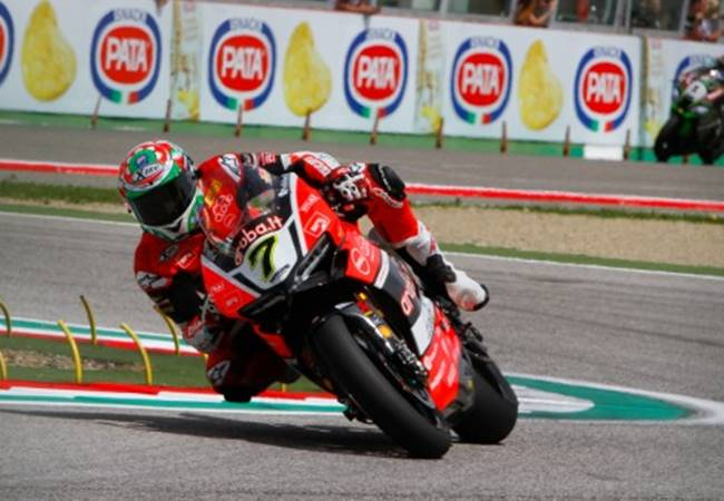 WSBK Imola 2016, Ducati double winner