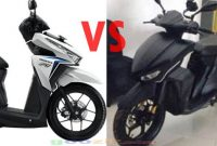 Gesits vs Honda Vario 125