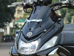modif Windshield mio m3