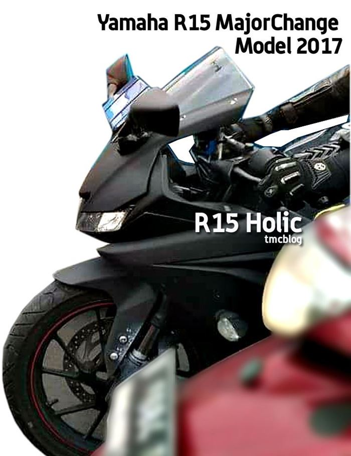 Yamaha R15 headlamp LED