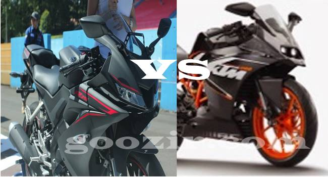Yamaha R15 VS KTM RC 200