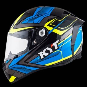 KYT Thunderflash Green / Yellow