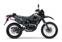 KLX 250 model army 2018 kerennn