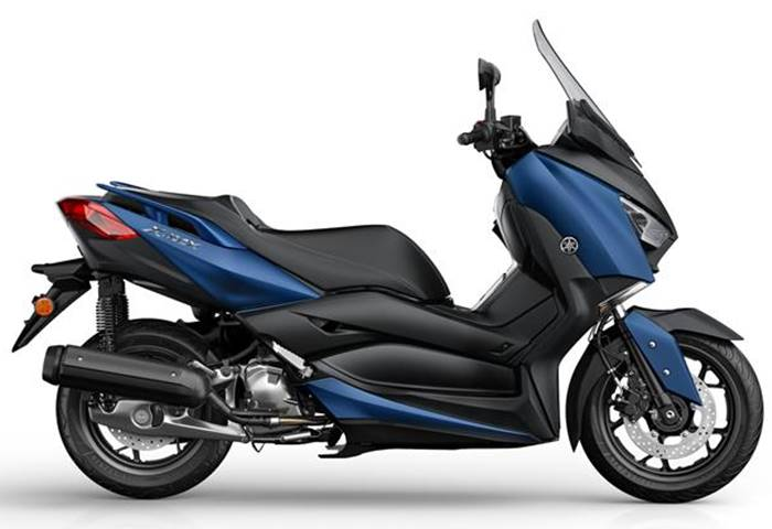 xmax 125 phantom blue