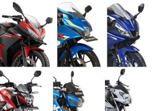 Data Penjualan Motor Sport 150 cc September 2017