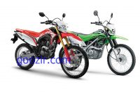 Penjualan Honda CRF150L VS KLX 150 November 2017