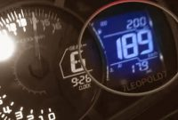 Top Speed Ninja 250 2018 On Speedo