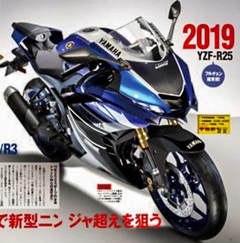 Yamaha YZF R25 2019, Power 41 PS?