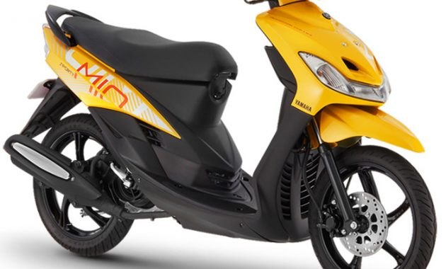 All New Mio Sporty 2018 yellow