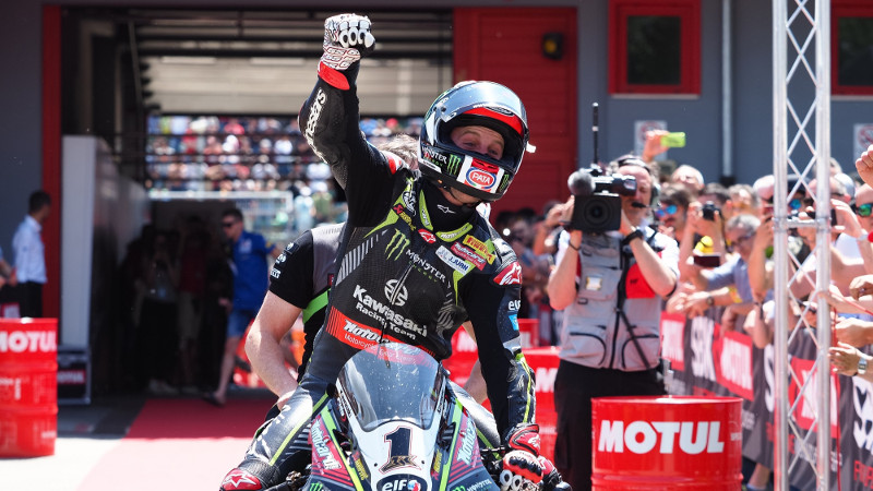 World Superbike Imola 2018, Rea 59 kali menang