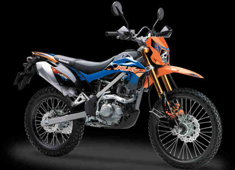 Warna KLX150BF X-Treme orange