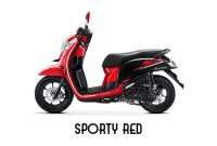 Harga Honda Scoopy Sporty Red