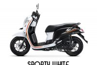 Harga Honda Scoopy Sporty Wite