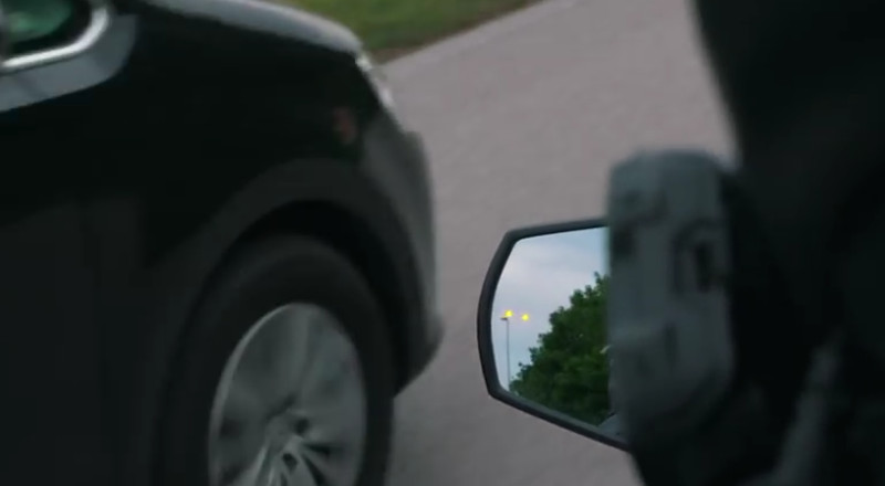Blind Spot Detection dan Adaptive Cruise Control KTM