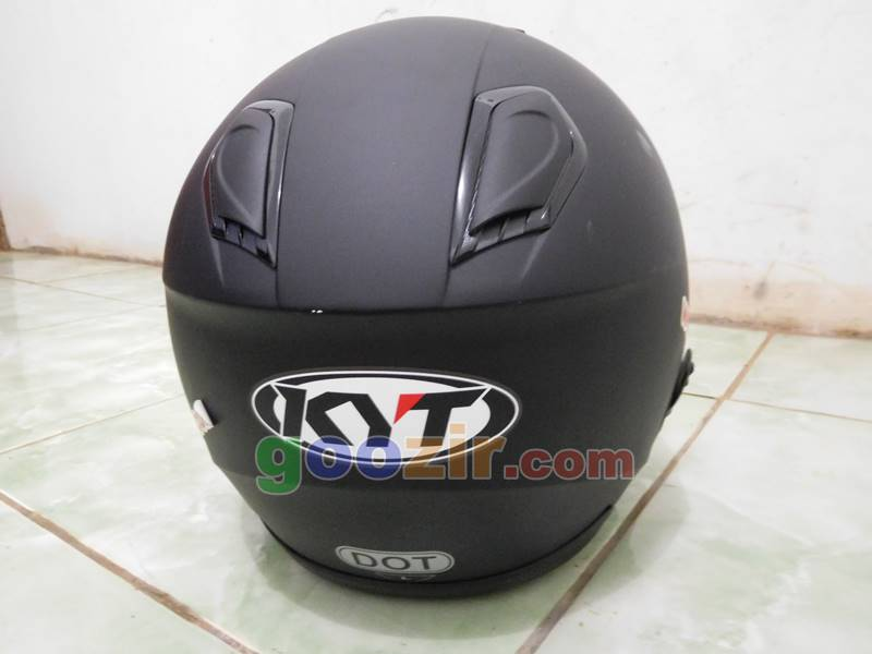 Helm KYT Kyoto Black Doff: Review fitur dan first impression