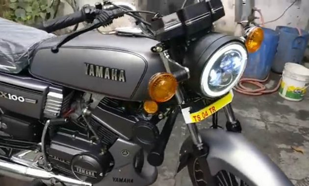 Modification : Yamaha RX100 Tampil Modern