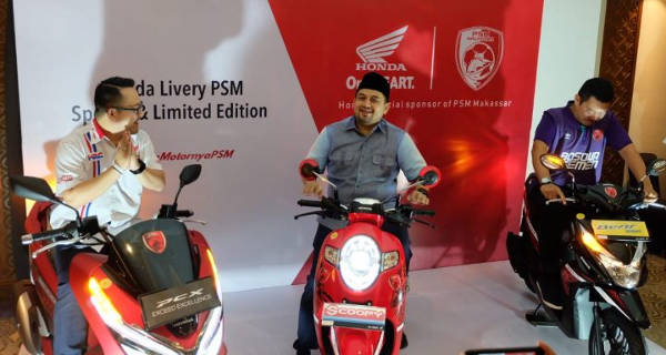 PCX Scoopy Beat Limited Edition PSM Makassar dan Harga