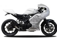 Modif R25 Café Racer Instan, Tinggal Beli Body Kit