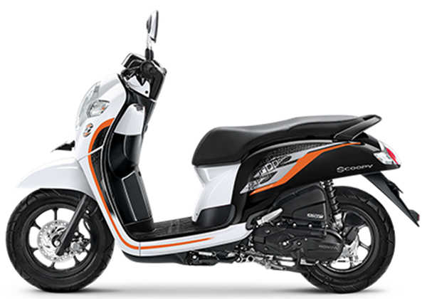 Scoopy sporty white