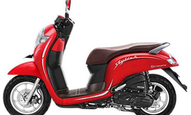 scoopy stylish stylish merah