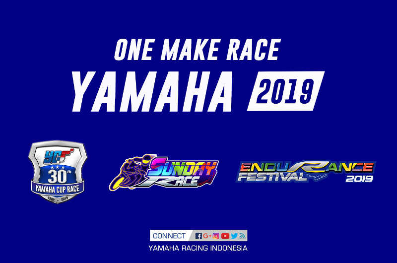Jadwal Yamaha One Make Race 2019 : Cup Race, Sunday Race & Endurance Festival