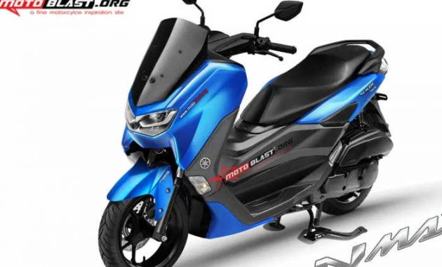 Reka digital full color Yamaha NMAX 2020