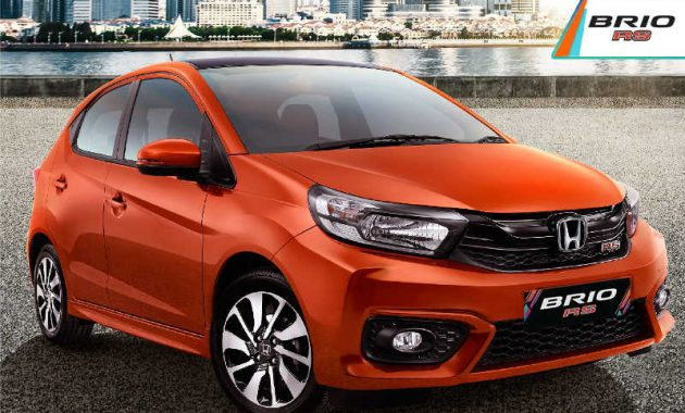 Honda BRIO RS Orange
