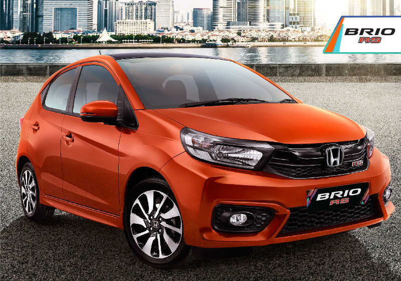 Honda BRIO 2020 RS Orange