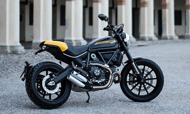 Scrambler Ducati Full Throttle