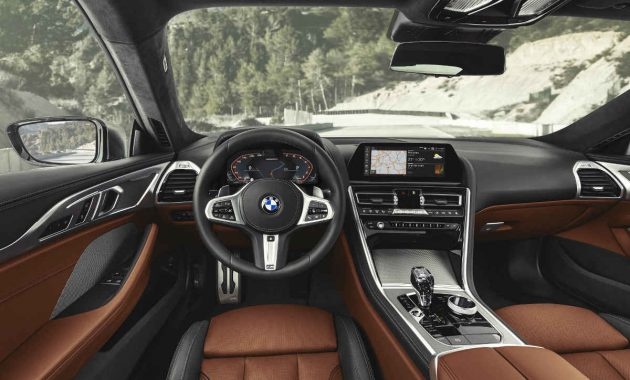 Interior BMW M8 Coupe