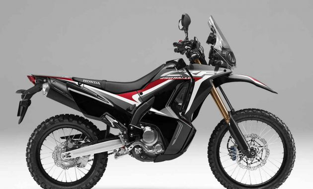 Honda CRF250 Rally Extreme black