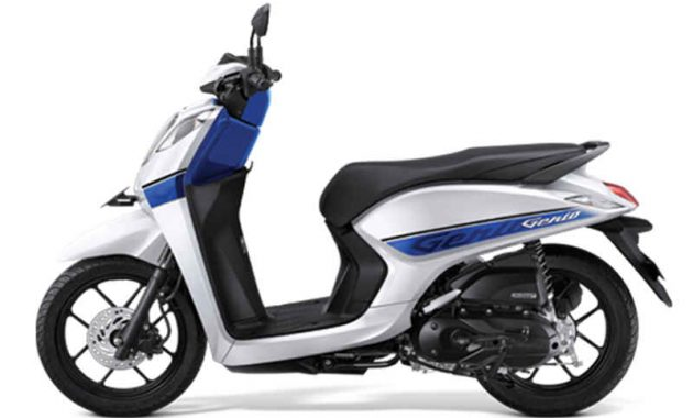 Honda Genio 110 Smart white blue