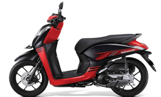 Honda Genio 110 trendy black red