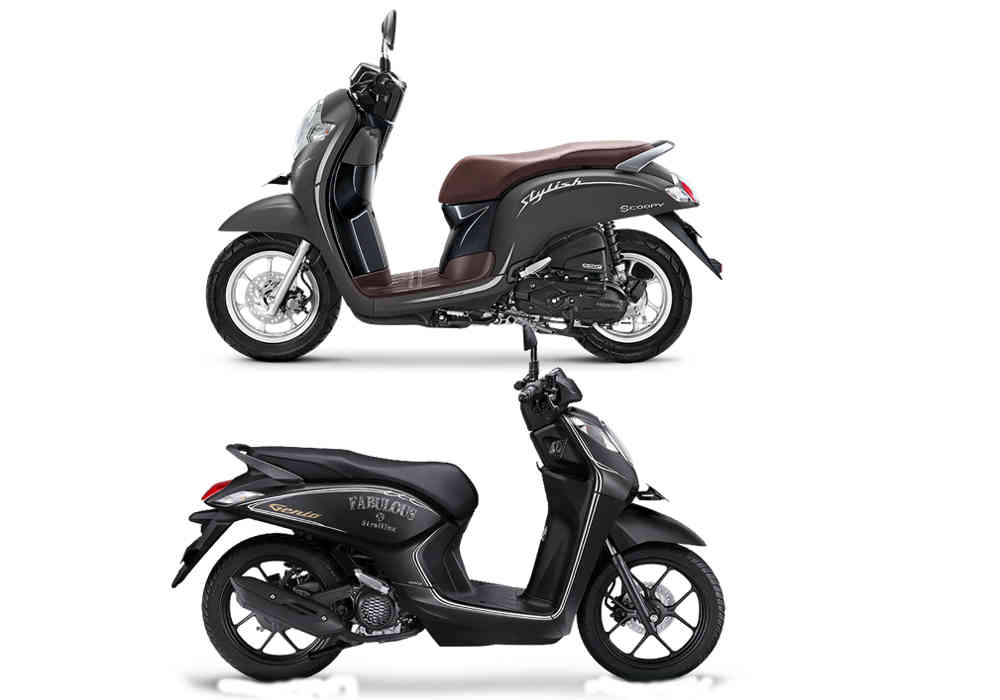 beli Scoopy vs Genio 110