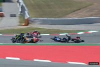 Juara MotoGP Catalunya 2019, Top Rider Crash