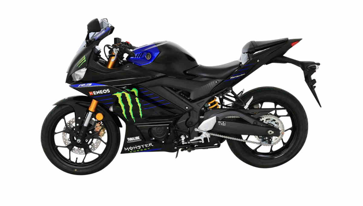 Yamaha R3 Monster Energy