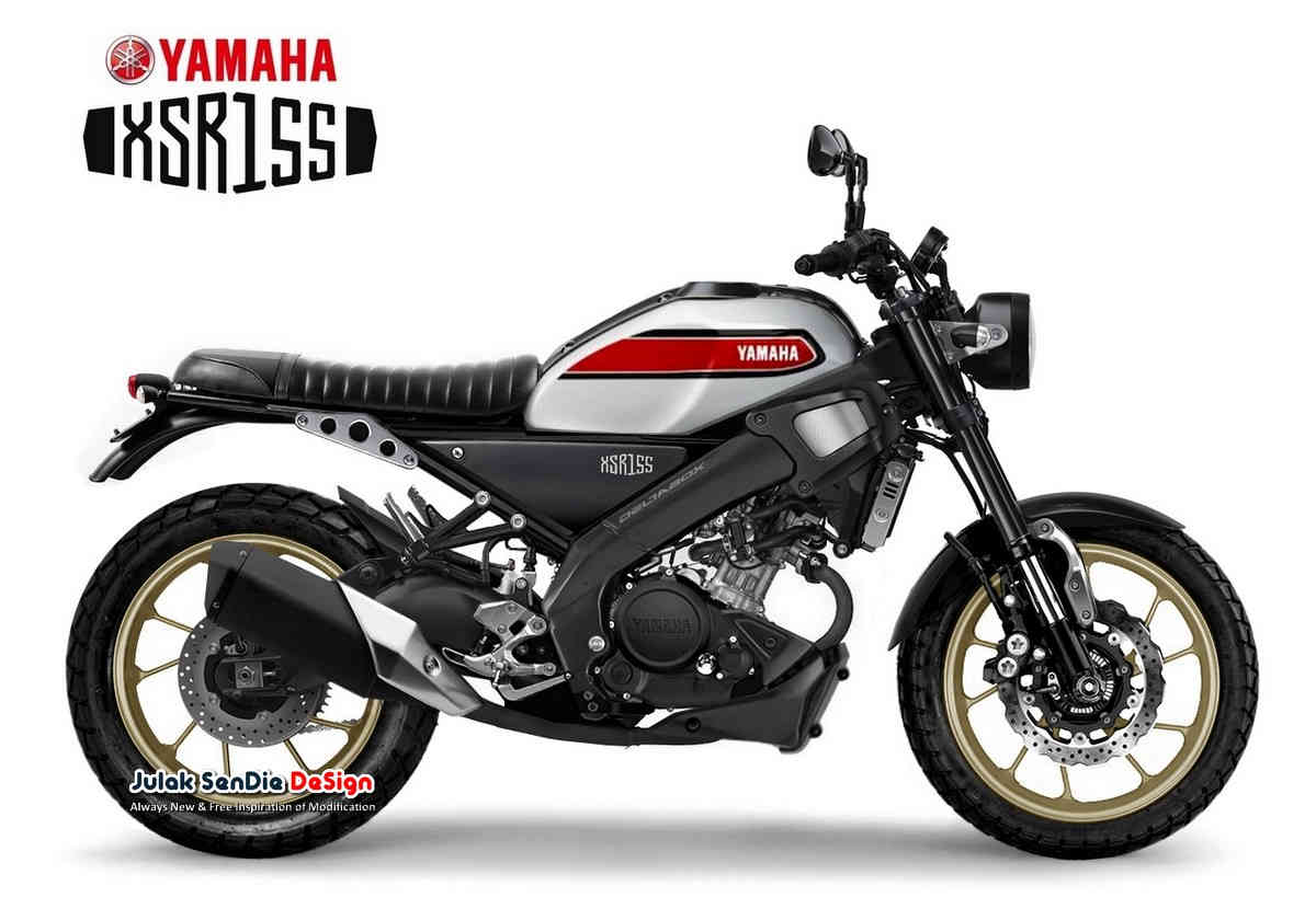 Yamaha XSR155 Tracker, Mesin MT15 Suspensi USD