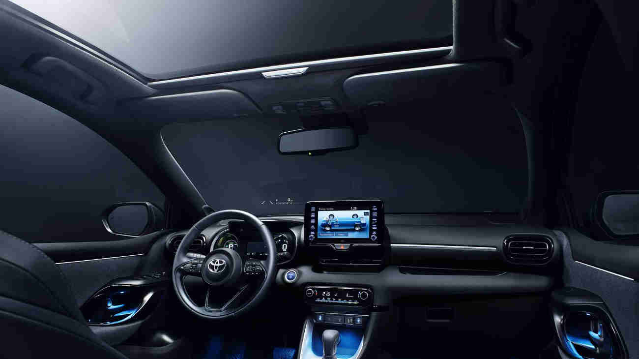 Interior Toyota Yaris 2020