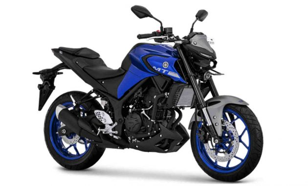 Yamaha MT-25 Blue