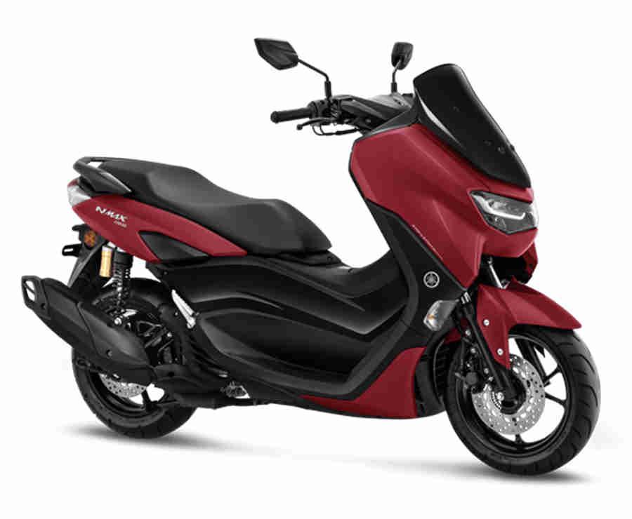 Warna NMAX Matte Red