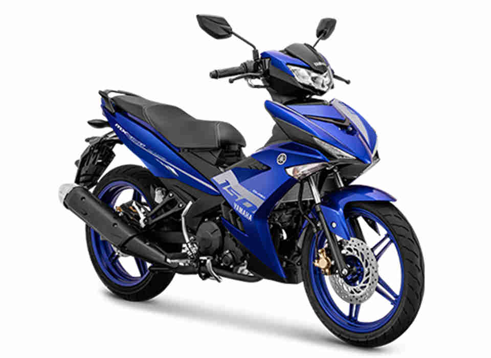 Yamaha MX King Biru