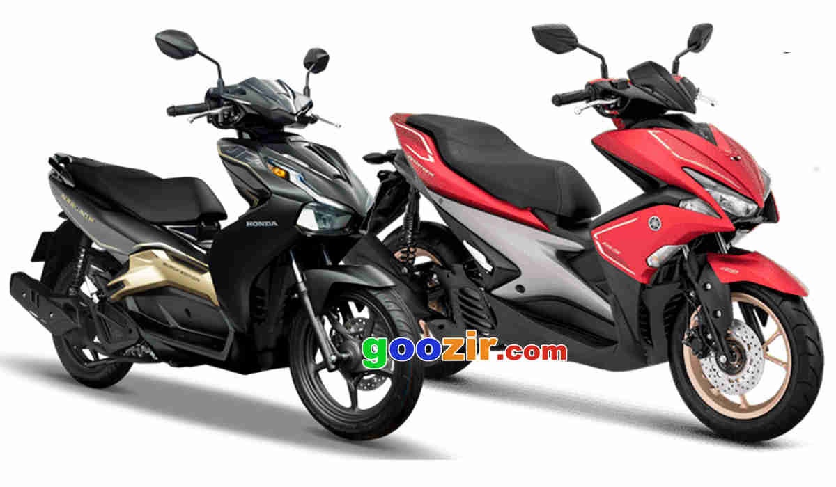 Honda Air Blade 150 VS Aerox 155