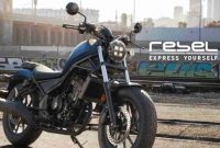 Cruiser Honda Rebel 250 MY 2020, What is New?